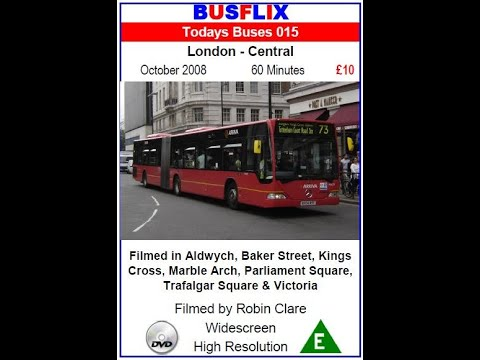 Busflix Todays Buses 015 London Central October 2008