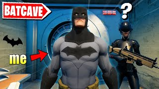 Fortnite is adding BATMAN, so I Pretended to be him