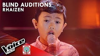 Rhaizen Rosales - Ang Buhay Ko | Blind Auditions | The Voice Kids Philippines Season 4