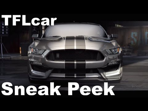 2016 Ford Mustang Shelby GT350: Sneak Peek at Ford's Fastest Production Car