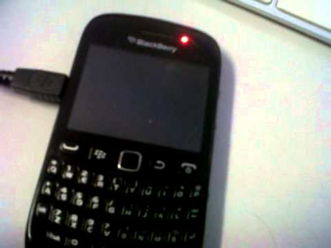 Blackberry 9220 not booting