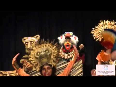 The Davis Academy The Lion King Jr. Production Finale Song 2
