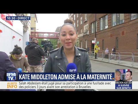 Royal baby 3: Kate Middleton est arrivée à la maternité