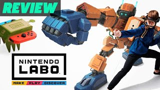 Nintendo Labo Variety Kit and Robot Kit Review