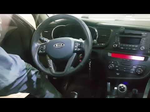 Регулировка углов установки колес Kia Optima 2011 года (развал/схождение)