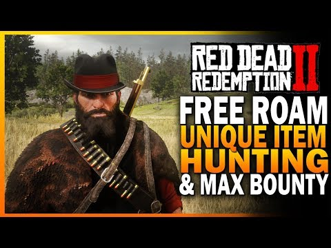RDR2 Free Roam - Unique Items And Maximum Bounty - Red Dead Redemption 2 thumbnail