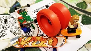 Rain City Skills X OhYesYo SK8R YoYo Unboxing and Review.