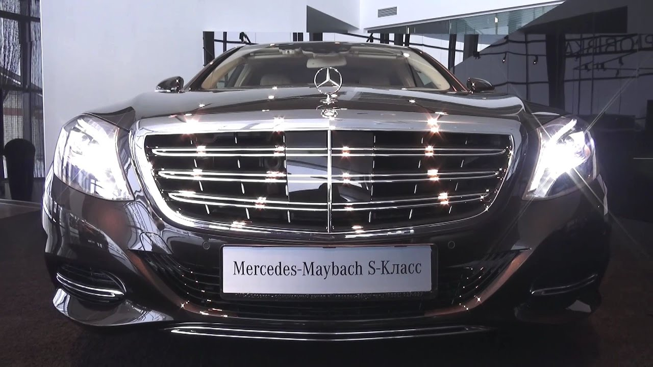2017 Mercedes-Maybach S500 4MATIC. Обзор (интерьер, экстерьер, двигатель).