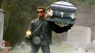 Terminator movie super scene