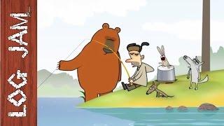 Fishing - funny cartoons || Log Jam series