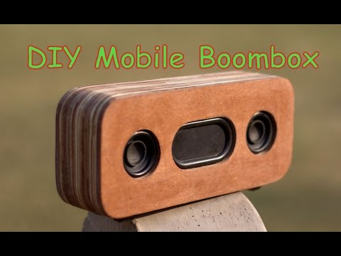 DIY Mobile Boombox || Home Made  Bluetooth Speaker