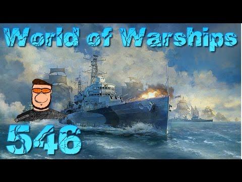Die erste Runde Fiji #546 World of Warships - Gameplay - German - World of Warships