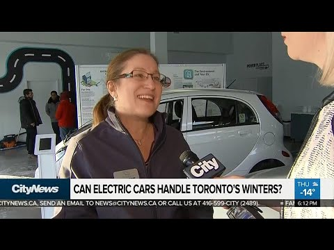 Can electric vehicles handle cold, Canadian winters?