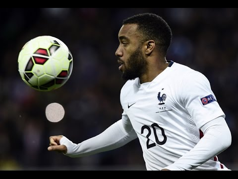 Réaction de Lacazette après France - Danemark (2-0)