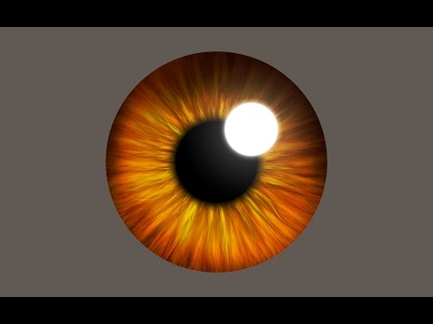 How To Create A Realistic Eye Iris With Flame In Photoshop
