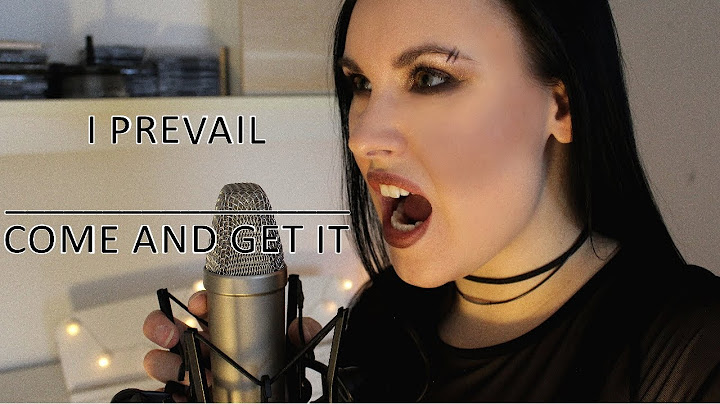 i prevail  come and get it vocal cover by steffi stuber