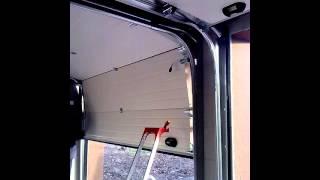 Ворота гаражные секционные автоматические - качество!(, 2014-02-08T19:24:16.000Z)
