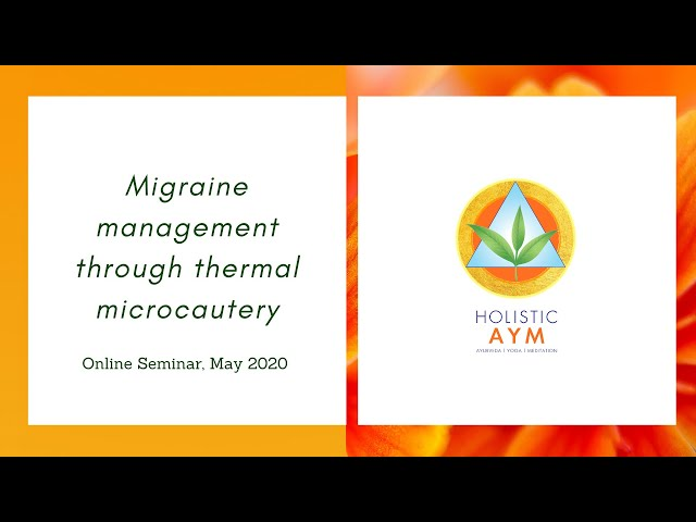Migraine management through Thermal Microcautery | Dr N.G. Kostopoulos