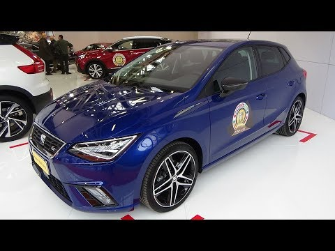 2018 Finalist Car of the Year - Seat Ibiza - Bologna Motor Show 2017