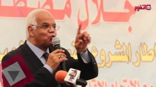 محافظ القاهرة: القاهرة لن تغرق في شبر مية (اتفرج)