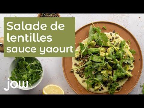 recette-de-la-salade-lentilles-sauce-yaourt