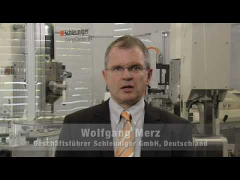 productronica interview with Wolfgang Merz, Executive Vice President Asia Pacific, Schleuniger GmbH