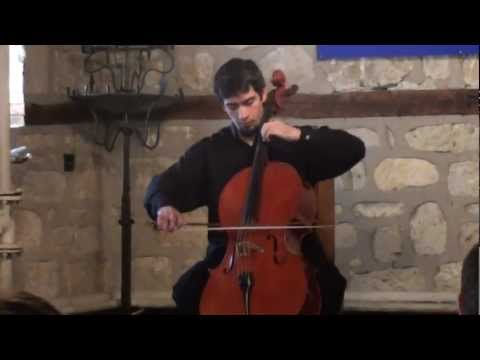 Petar Hristoskov: Fantasy for Solo Cello - Davi Barreto