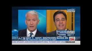 Anderson Cooper Battles GOP Rep. Raul Labrador: You're Getting Real Questions Here