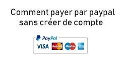 Comment payer par PayPal sans créer de compte
