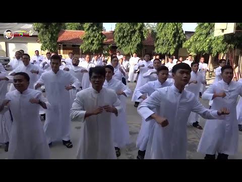 GEMU FA MI RE. Misi Umat Vinsensian (MUV) Indonesia 2017. Paroki St Maria Blitar.