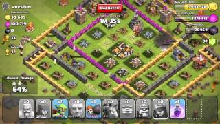 "Clash of Clans - ""No Raids Less Than 500k?!?!?"" 784k 3 Star Raid For The Win!"
