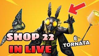 SHOP 22 JENNAIO IN LIVE - WE'ReINTED LO SHOP INSIEME - Auditions for the new team ( FORTNITE )