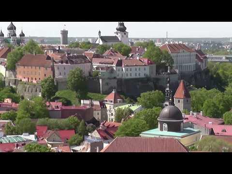 Panorama Tallinn Old Town Estonia.