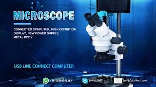 1080P High definition microscope camera for smart phone mainboard repair