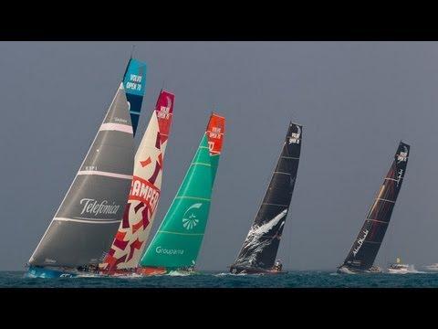 Leg 3: Abu Dhabi Live Leg Start Replay | Volvo Ocean Race 2011-12