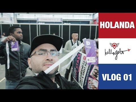Nos vamos a la VIDCON EU - Holanda Vlog 1