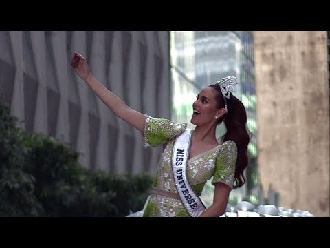 Miss Universe 2018 Catriona Gray's homecoming parade: Fit for a queen