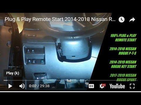 Plug /& Play Upgrade Partida Remota Compatível Com 2005-2015 N ssan Xterra Suv Evo-Nis5