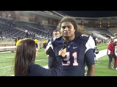 Allen Linebacker James Tupou 11 11 2016