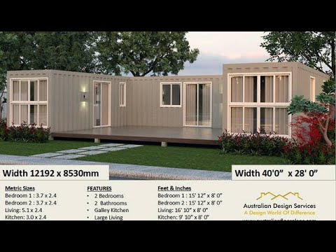 Best Selling 2 Bedroom Shipping Container house plans Flat