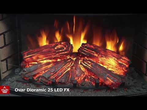 Электрический Очаг Royal Flame Dioramic 25 LED FX. Видео 1