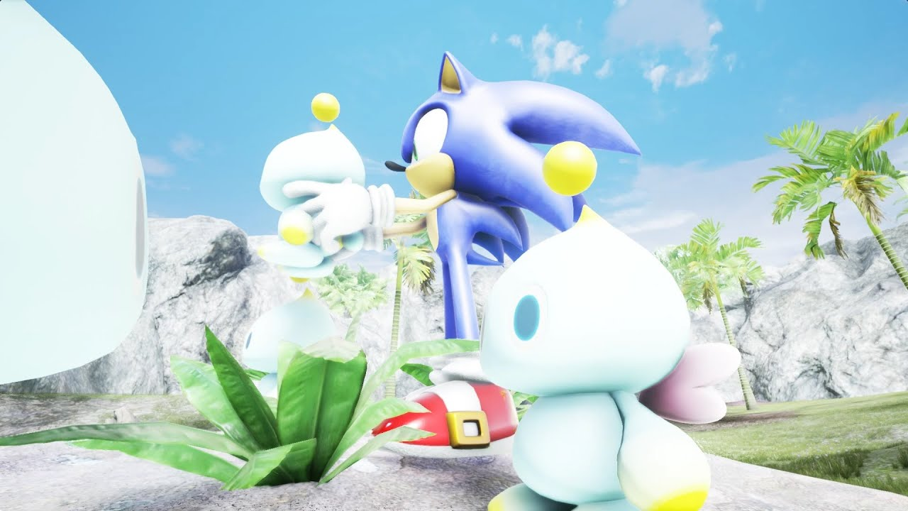 Unreal Engine 4 Sonic Adventure 2 Chao Garden