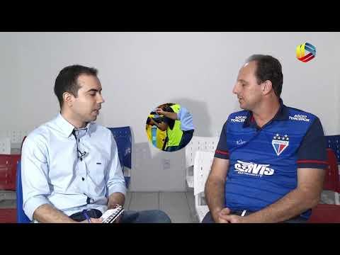 JOGO CERTO: Rogério Ceni fala sobre trabalho no Fortaleza