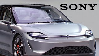 SONY CAR – CES 2020 Press Conference – Sony Vision-S concept car
