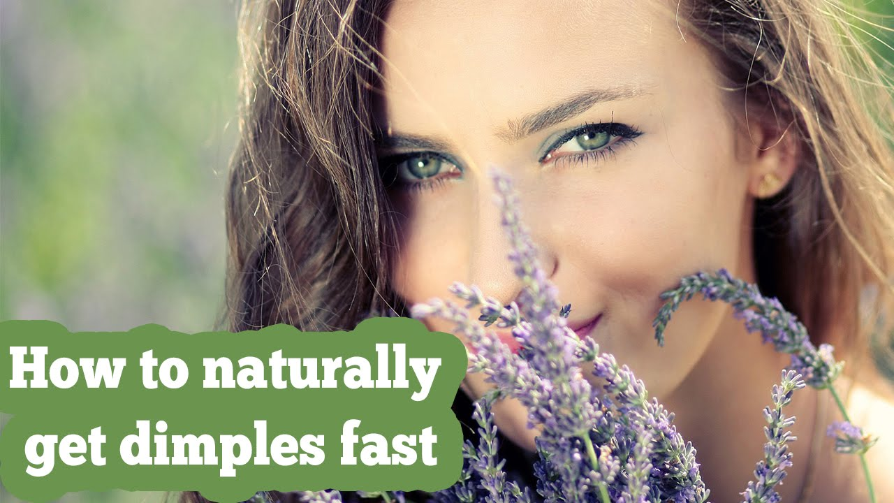 how to create dimples naturally