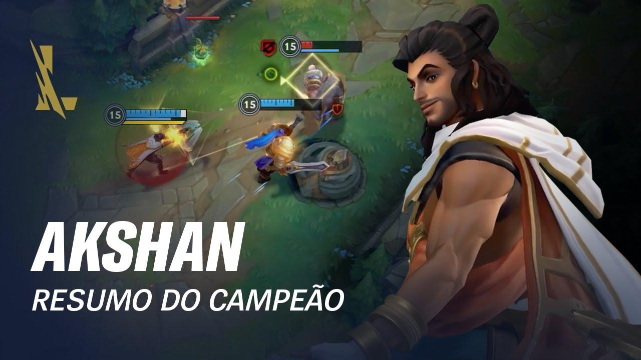 League of Legends: Wild Rift – Visão geral do Campeão: Akshan | Mecânica de jogo
