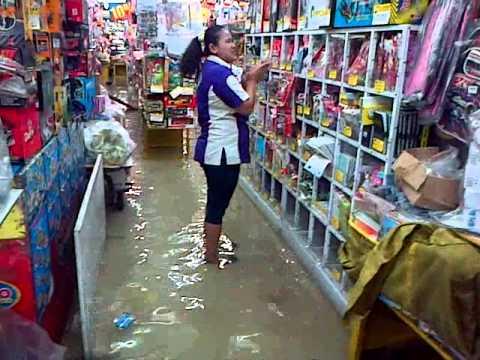 Banjir di Toko Golo Pasar Baru, 9 Februari 2015