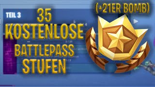 *Bagged* 35 BATTLEPASS STUFEN (+21er BOMB) - Fortnite Battle Royale