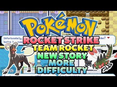 Pokemon Rocket Strike fan made hack Gameboy Advance GBA