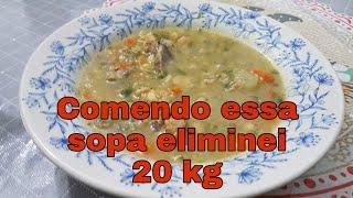 Sopa Leve para Reeducação Alimentar